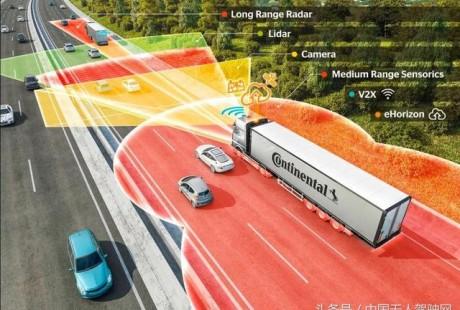 大陆集团在自动驾驶商用车领域的战略布局有什么?