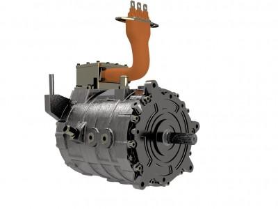 90kw驱动电机及其控制器