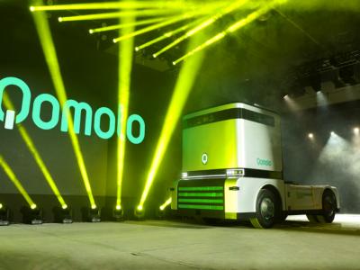 无人驾驶重卡Q-Truck