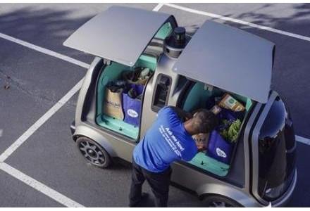 Nuro与日用品巨头Kroger合作推出无人驾驶送货