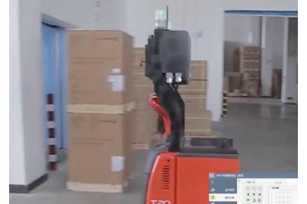 工业车辆无人驾驶系统解决方案视频