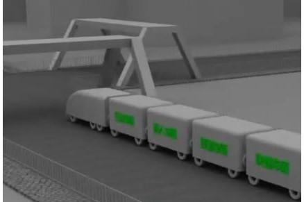 未来新型智能城市交通无人驾驶系统