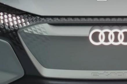 奥迪无人驾驶概念车AI