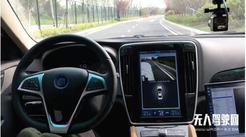 润和软件AutoCore无人驾驶汽车已经在路上了