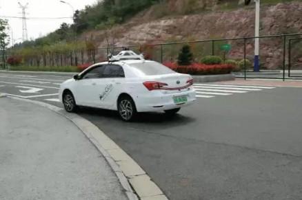 润和软件AutoCore无人驾驶汽车自主泊车功能实地演示