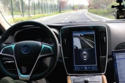 润和软件AutoCore无人驾驶汽车实地演示