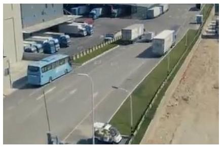 中通自动驾驶货车路测 实现全程无人接管