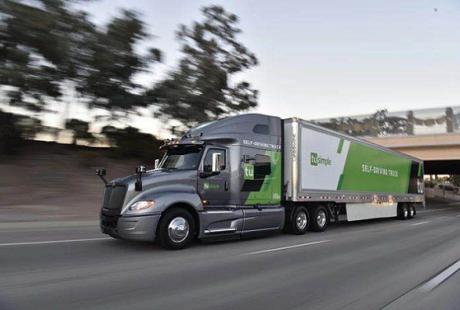 两月内自动驾驶初创图森再获1.2亿美元融资 曾获新浪投资