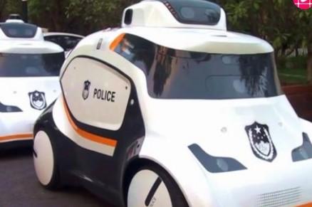 10辆无人驾驶警用巡逻车国内首次投入实战