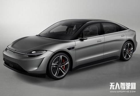 全车搭33颗自动驾驶传感器元件 索尼首款电动车Vision-S已上路实测