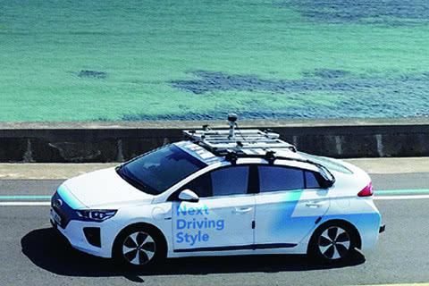 自动驾驶公司RideFlux与SoCar已在济州岛部署自动驾驶汽车